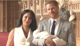 Harry and Meghan's son makes his media debut