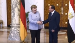 Merkel visits Egypt to deal with immigration crisis