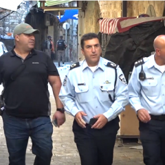 Arab Israeli attempts to stab Policeman in Jerusalem's Old City, is shot dead