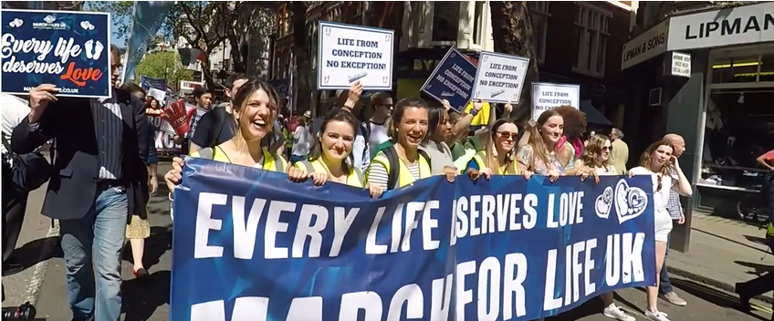 London: Thousands accross the UK join in pro-life march
